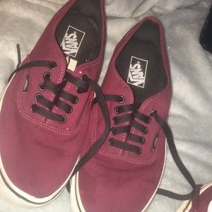 Lightly worn vans